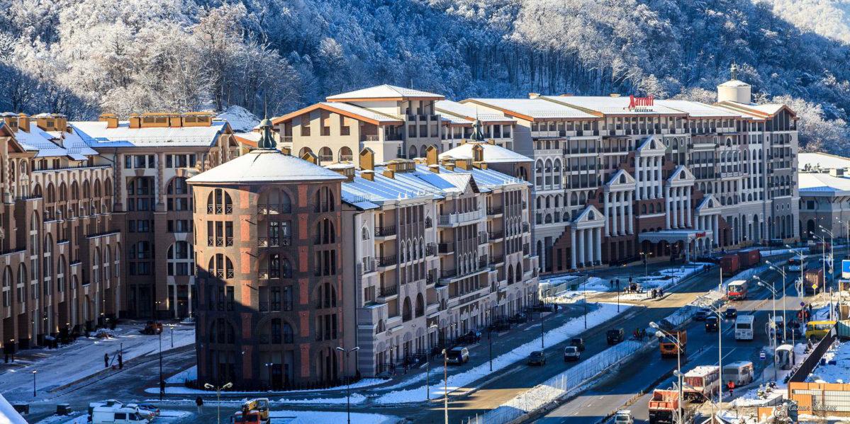 отель в горнолыжном курорте Горки Город Апартаменты